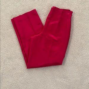 Talbots silk blend pants